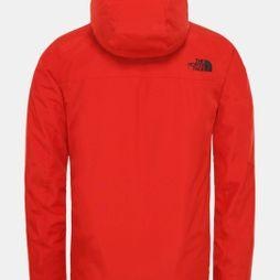 The North Face Mens Descendit Jacket Fiery Red