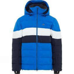 J.Lindeberg Mens Russel Down 2L Ski Jacket Pop Blue/White/Navy