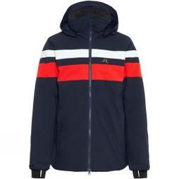 J.Lindeberg Men's Franklin 2L Ski Jacket Navy/White/Racing Red