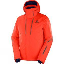 Salomon Stormseason Jacket Cherry Tomato/Cherry Tomato