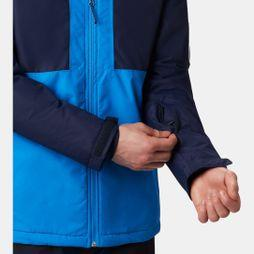 Columbia Mens Timberturner Ski Jacket Azure Blue/ Collegiate Navy