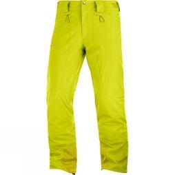 Salomon Mens Icemania Pants Citronell