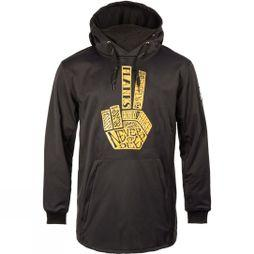 Planks Mens Parkside SoftShell Hoodie Black