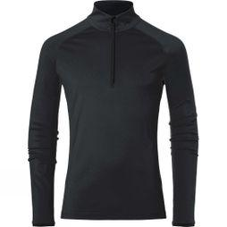 KJUS Mens Feel Halfzip Fleece Black