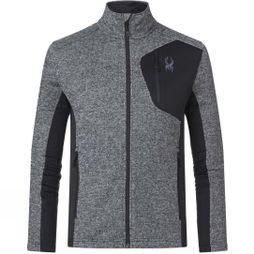 Spyder Men's Bandit Full Zip Jacket BLK/ALL
