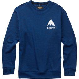 Burton Mens Oak Crew Mood Indigo Heather