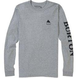 Burton Mens Elite LS T-Shirt Gray Heather