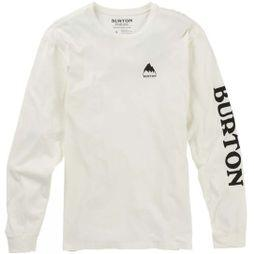 Burton Mens Elite LS T-Shirt Stout White