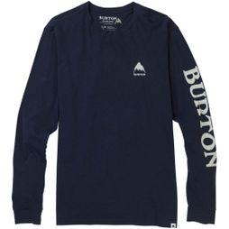 Burton Mens Elite LS T-Shirt Mood Indigo