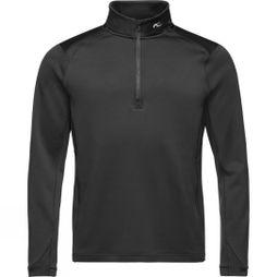 KJUS Mens Diamond Halfzip Fleece Black