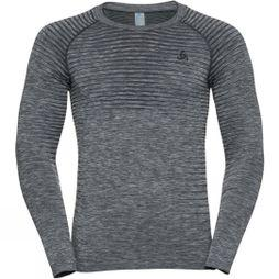 Odlo Men's Performance Light LS Crew Neck Grey Melange