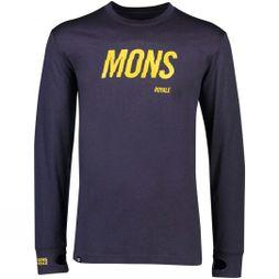 Mons Royale Men's Yotei Tech LS Crew 9 Iron