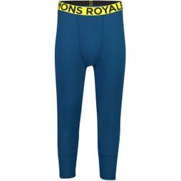 Mons Royale Men's Shaun-Off 3/4 Legging Oily Blue