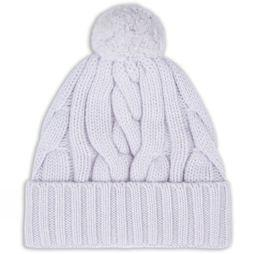 Aran Cable Knit Bobble