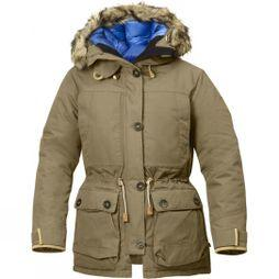 Fjallraven Womens Expedition Down Parka No. 1 Sand