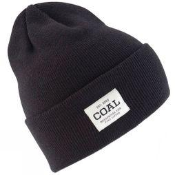 Coal The Uniform Beanie Solid Black