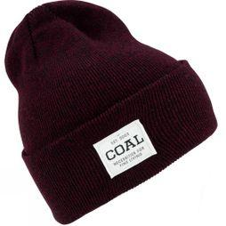 Coal The Uniform Beanie Dark Burgundy Marl