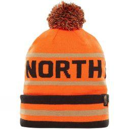 The North Face Ski Tuke V Beanie TNF Black/ Persian Orange