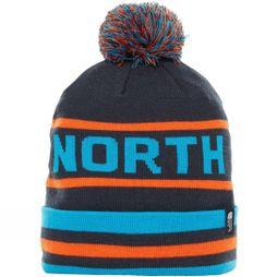 The North Face Ski Tuke V Beanie Urban Navy/ Persian Orange
