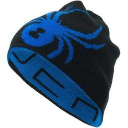 Spyder Mens Reversible Innsbruck Hat Turkish Sea/ Black