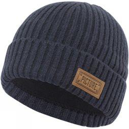 Picture Mens Ship Beanie Dark Blue