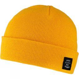Planks Mens Drop Cliffs Original Beanie Sunset Yellow