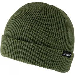 Planks Mens Essential Beanie Army Green