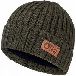 Picture Ship Beanie Dark Army Green