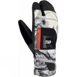 Picture Men's Sparks 3 Finger Glove Lofoten Print