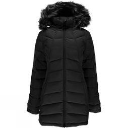 Womens Syrround Long Faux Fur Down Coat