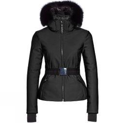 Womens Kago Faux Fur Belted Jacket