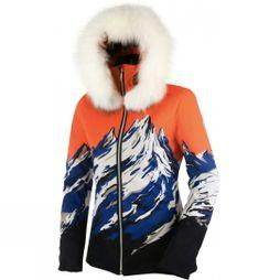 Womens Blanca Mountain Print Ski Jacket