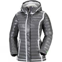 Columbia Womens Outdry Ex Eco Down Jacket Bamboo Charcoal