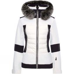 Toni Sailer Sports Womens Manou Fur Jacket Bright White