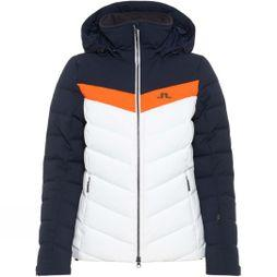 J.Lindeberg Womens Russel Down 2L Ski Jacket Juicy Orange
