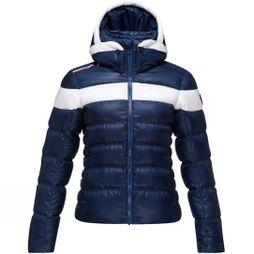 Rossignol Womens Hiver Down Jacket Dark Navy