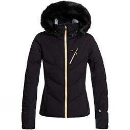 Roxy Womens Snowstorm Plus Jacket True Black