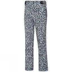 Protest Women's Angle leopard print Snow Pant Seashell