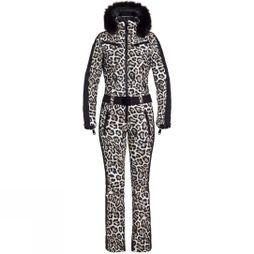 Goldbergh Women's Cougar Ski Suit Leopard