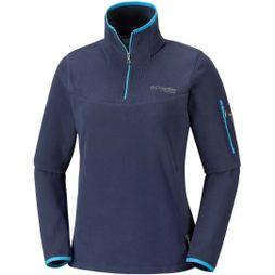 Columbia Womens Titan Pass II Half Zip Fleece Nocturnal/ Atoll