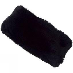 Steiner Winter Women's Wide Faux Fur Headband Chinchilla Midnight