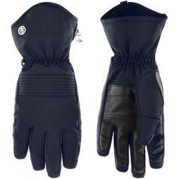 Poivre Blanc Women's Stretch Ski Glove Gothic Blue