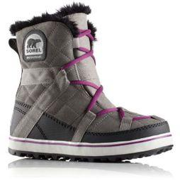 Sorel Womens Glacy Explorer Shortie Quarry