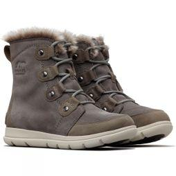 Sorel Womens Explorer Joan Boot Quarry/Black