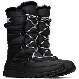 Sorel Womens Whitney Tall Lace Boot Black
