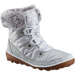 Columbia Womens Heavenly Shorty Camo Omni-Heat Boot Grey Ice/ White