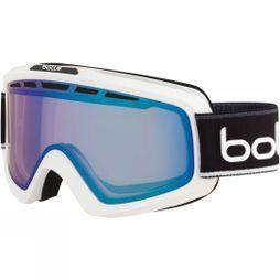 Bolle Mens Nova II Goggle Matt White Black/ Phantom