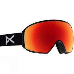 Anon Mens M4 Toric Goggle Black/ Sonar Red & Sonar Infrared