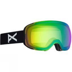 Anon Men's M2 Goggle + Bonus Lens Black / Sonar Green & Sonar InfraRed