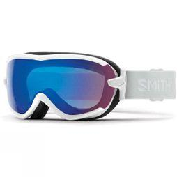 Smith Womens Virtue Goggle White Vapour/ Storm Rose Flash